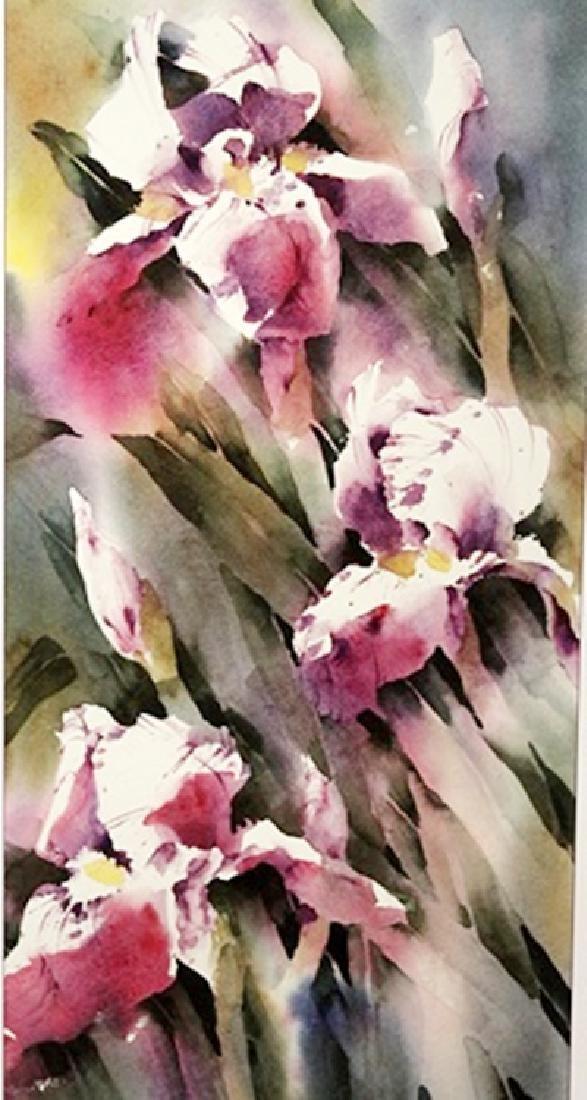 Iris - Joyce Kamikura - Lithograph