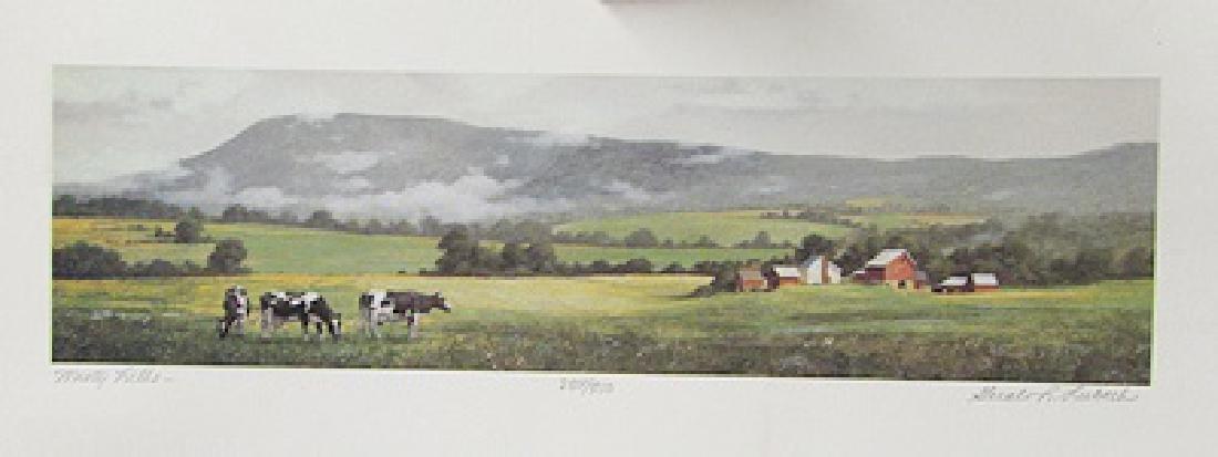 Misty Hills - Nancy Lubeck - Lithograph
