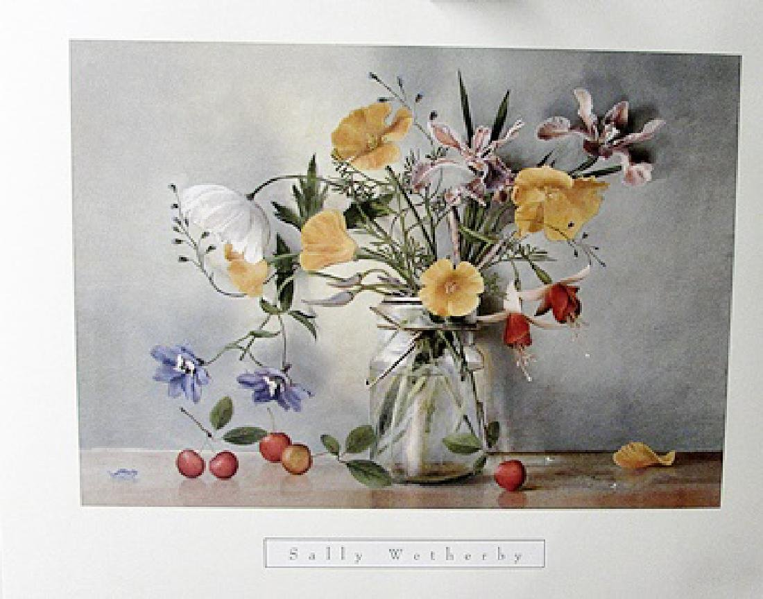 Mixed Bouquet II - Sally Wetherby - Lithograph - 2