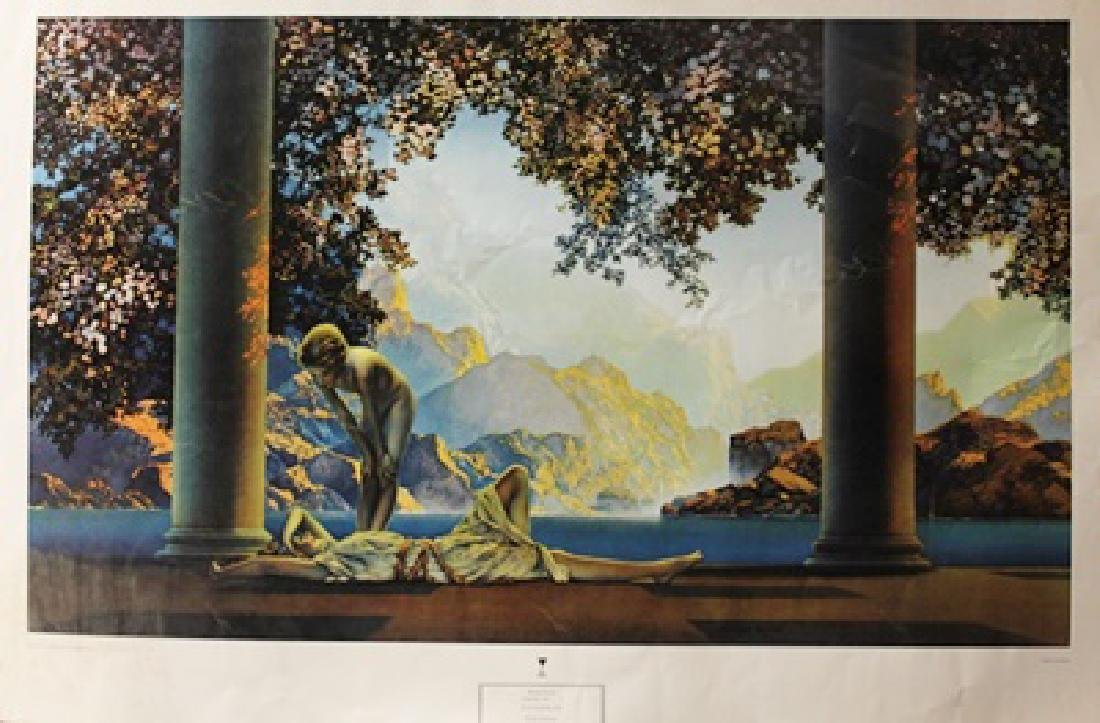 Daybreak - Maxfield Parrish - Lithograph