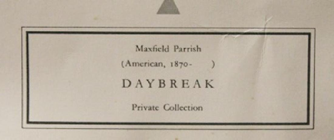 Daybreak - Maxfield Parrish - Lithograph - 2
