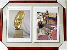 Framed 2-in-1 Lithographs (96E-EK)