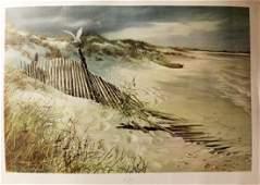 Lone Gull - Carolyn Blish - Lithograph 169