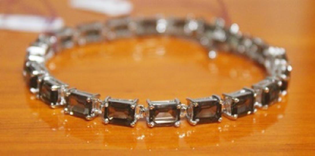 Beautiful Bracelet with Smoky Quartz