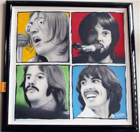 Signed Giclee Briggs The Beatles