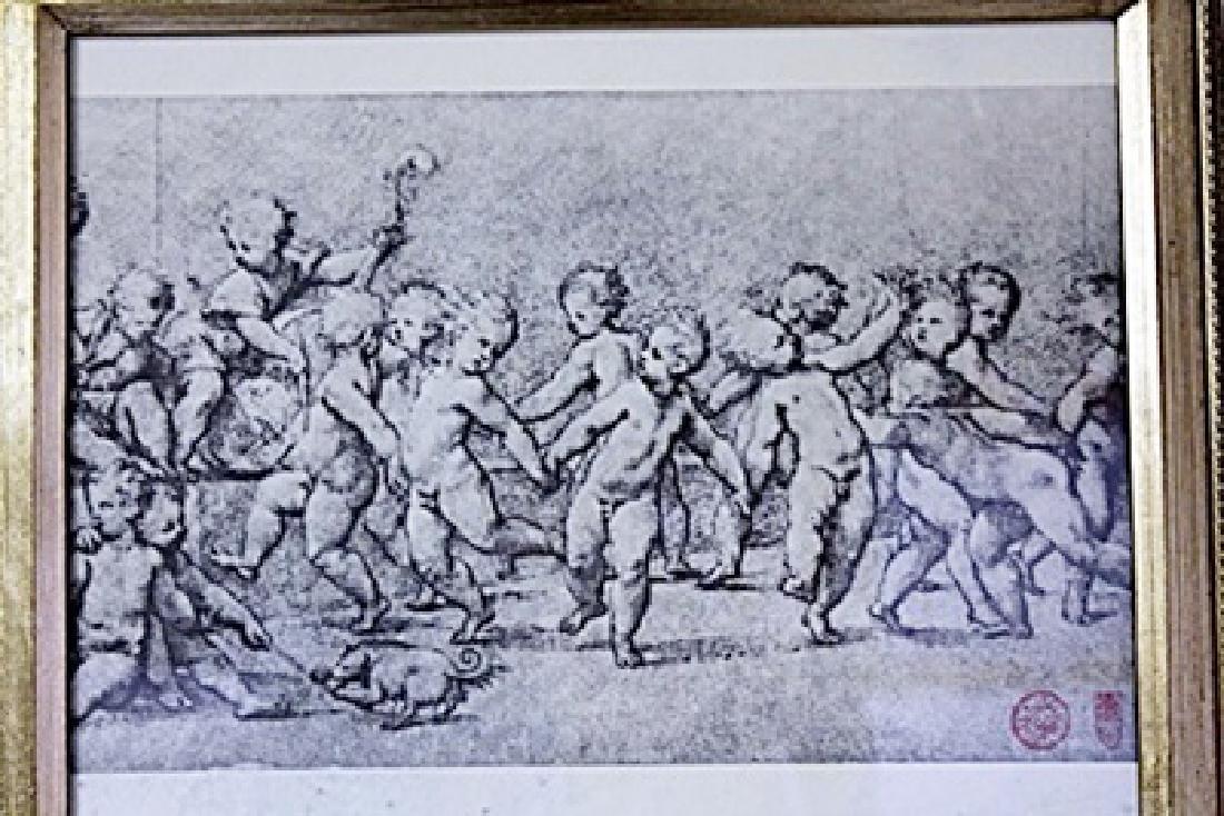 Framed Engraving (22E-EK) - 2