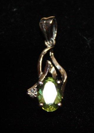 Exquisite Topaz Silver Pendant (5P)