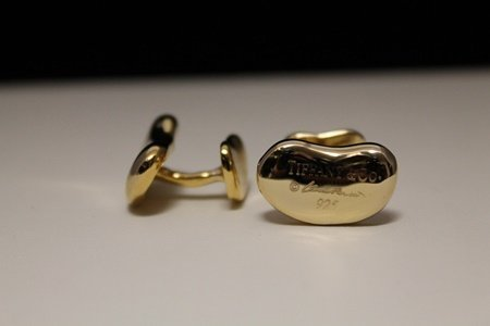 Gorgeous 14kt Gold over Silver Cufflinks (2C)