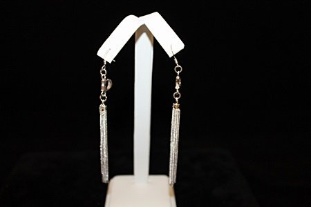Elegant Dior Silver Earrings (2E)