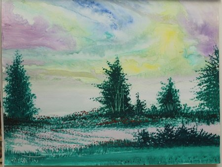 """Indian Skies"" by William Verdult"