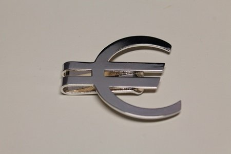 Fancy T & Co. Silver Money Clip (1C)