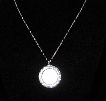 Dazzling BVLGARI Silver Necklace (158N)