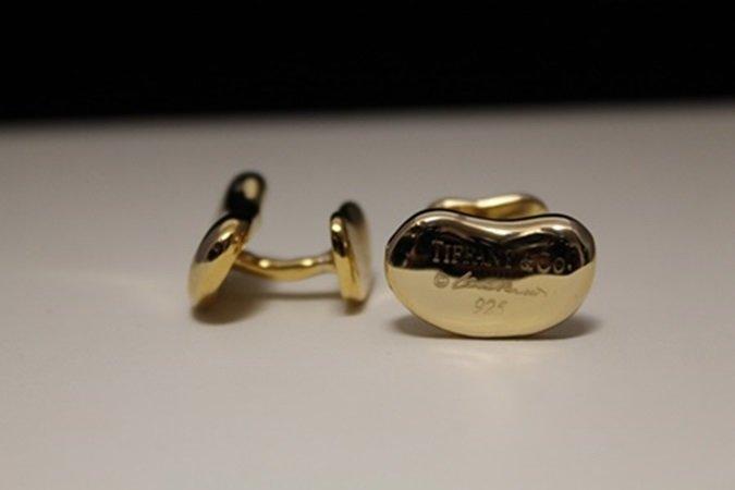 Gorgeous 14kt Gold over Silver Cufflinks (2C)