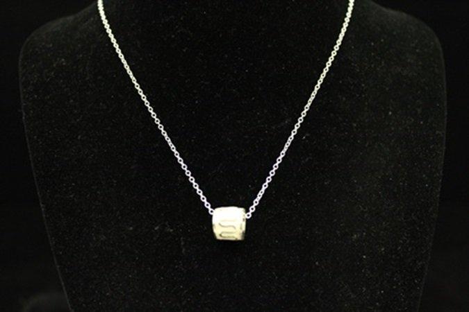 Elegant Chic Silver Necklace (2M)