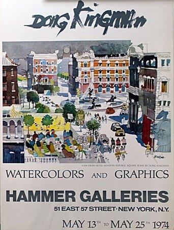 Dong Kingman, Hammer Galleries Poster