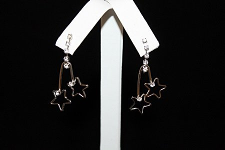 Fine Star Silver Earrings (6E)