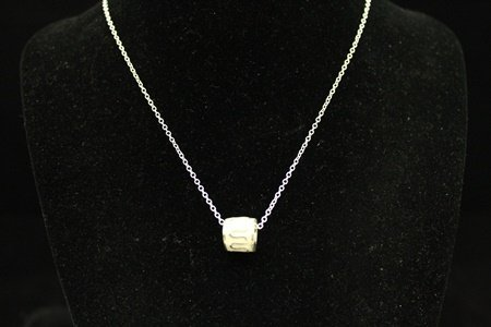 Elegant Chic Silver Necklace (2M)