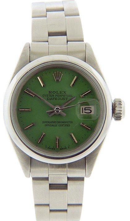 Ladies DateJust Rolex Watch - 2