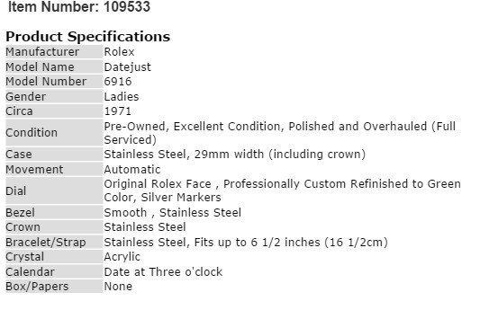 Ladies DateJust Rolex Watch - 4