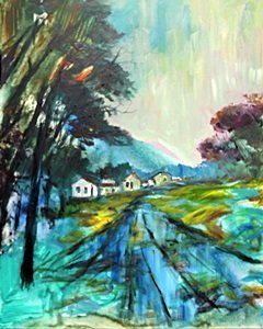 Road Back Home by Michael Schofield