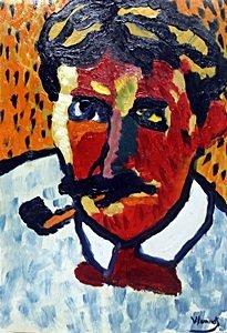 Andre Derain - Oil -  Maurice De Vlaminck