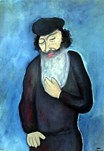 Jacob - Oil On Paper - Marc Chagall