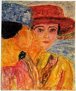 Two Woman - Pierre Bonnard