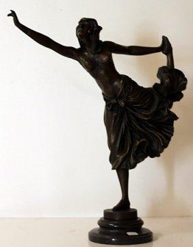 Dancer - Bronze Sculpture - Colinet