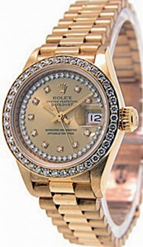 Lady's President Datejustdate Rolex