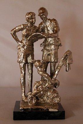 Lost In Fantasy Land - Silver Sculpture - Dennis Smith