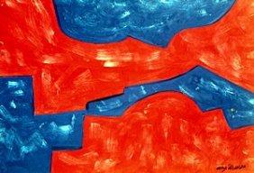 Untitled - Oil Painting - Serge Poliakoff