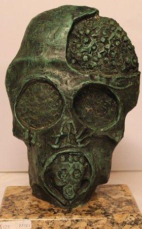 The Face Of War - Patina Bronze - Salvador Dali