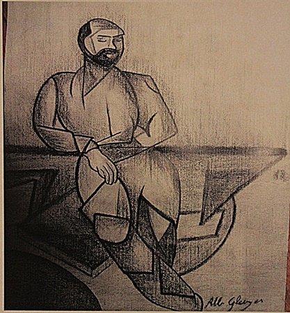 Albert Gleizes - Portrait Of Man