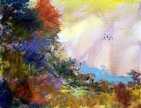 Original Painting By Michael Schofield