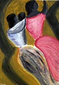 Two Woman - David Alfaro Siqueuros