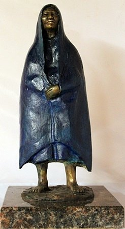 Bronze Sculpture - Marble Base - Gorman