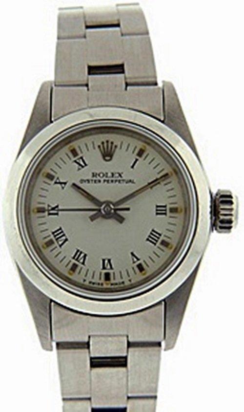 Womens OysterPerpetual Rolex Watch - 2