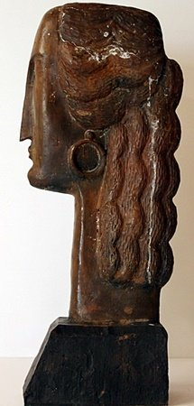 Large Bronze Sculpture - Amedeo Modigliani