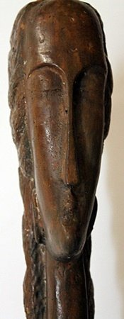 Large Bronze Sculpture - Amedeo Modigliani - 3