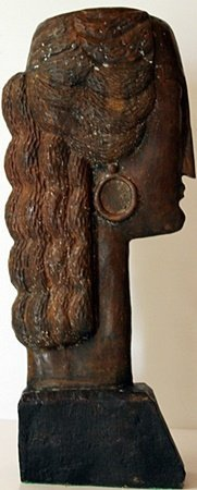 Large Bronze Sculpture - Amedeo Modigliani - 4