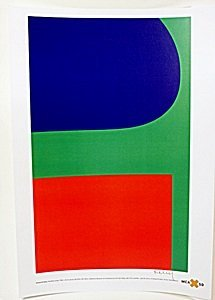 "Lithograph ""Red Blue Green"" after Ellsworth Kelly"