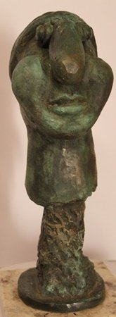 Limited Edition Patina Bronze Sculpture - Pablo Picasso
