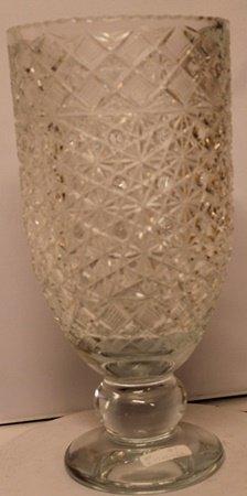 Large Turkey Crystal Glass Vase