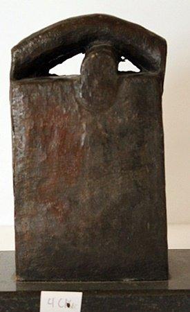 Bronze Sculpture - Edouardo Chillidia