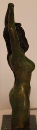 Patina Bronze Sculpture - Salvador Dali - 2