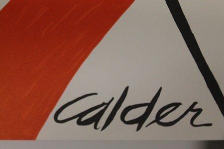"""Candy Cane"" By Alexander Calder - 2"
