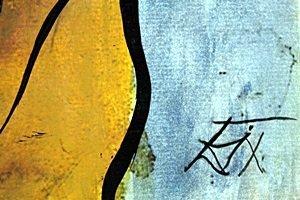 Morte 1935' - Oil on Paper - Otto Dix - 2