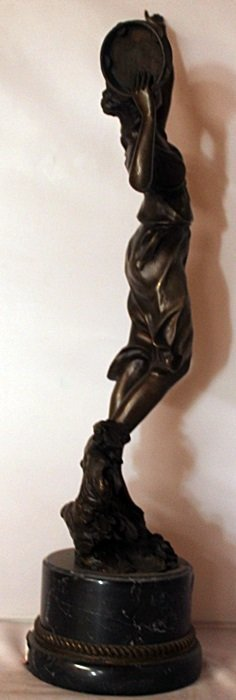 Dancer - Bronze Sculpture W/ Marble Base - 2