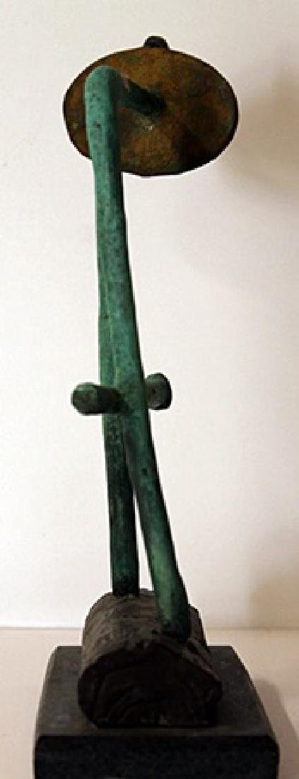 Patina Bronze Sculpture - Joan Miro - 2