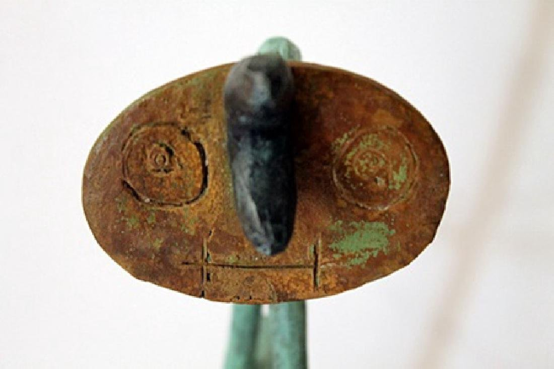 Patina Bronze Sculpture - Joan Miro - 3